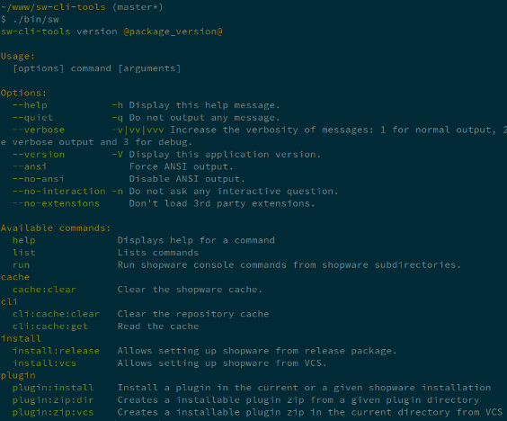 CLI tools in action