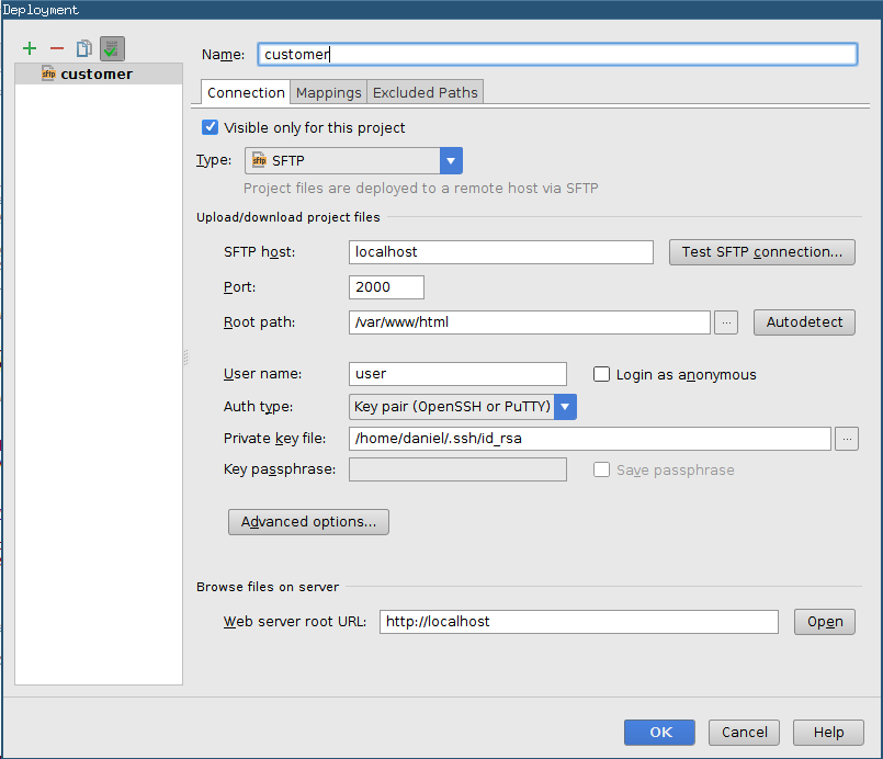 Developing with a SSH jumpserver