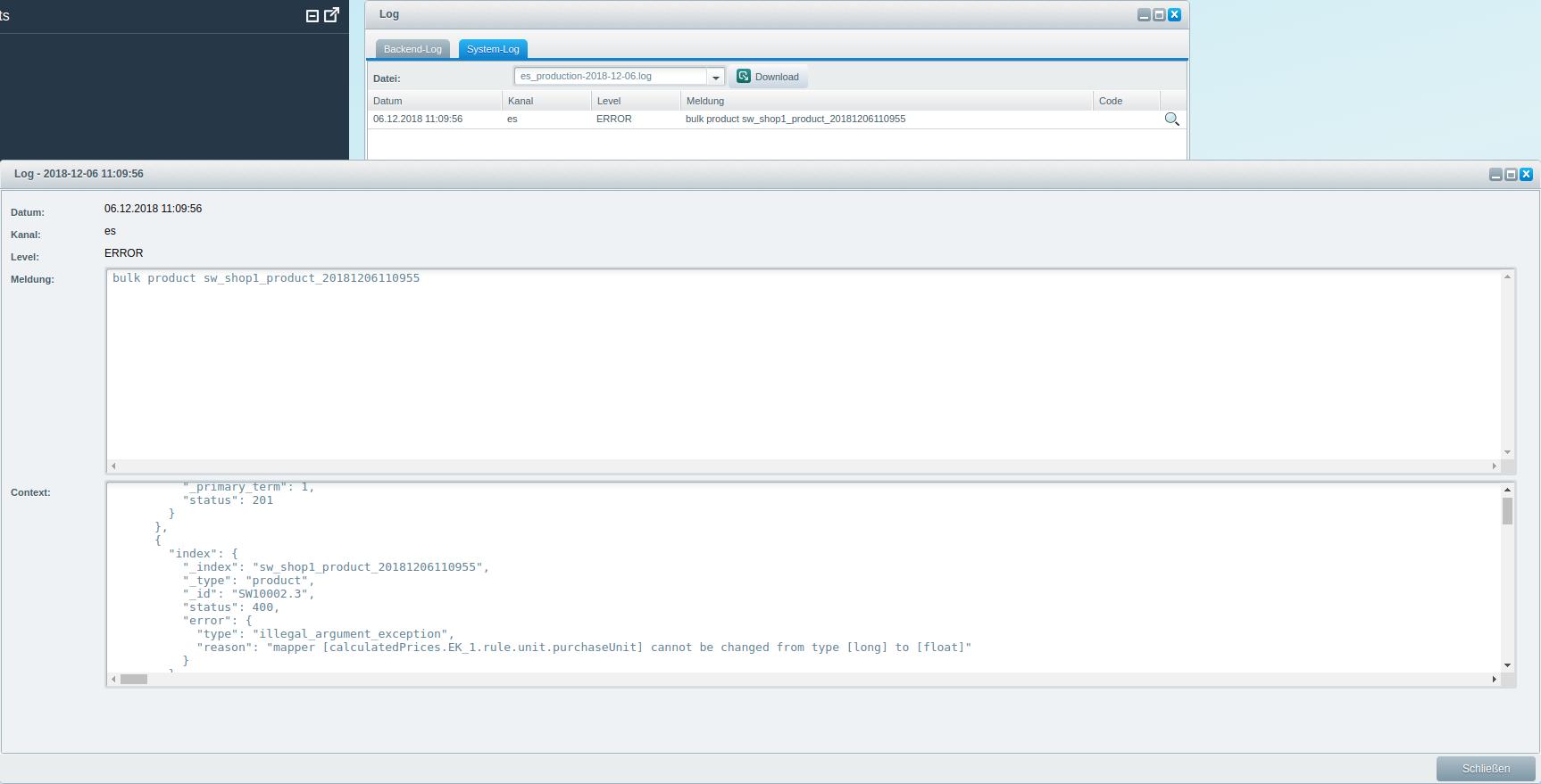 Elasticsearch development